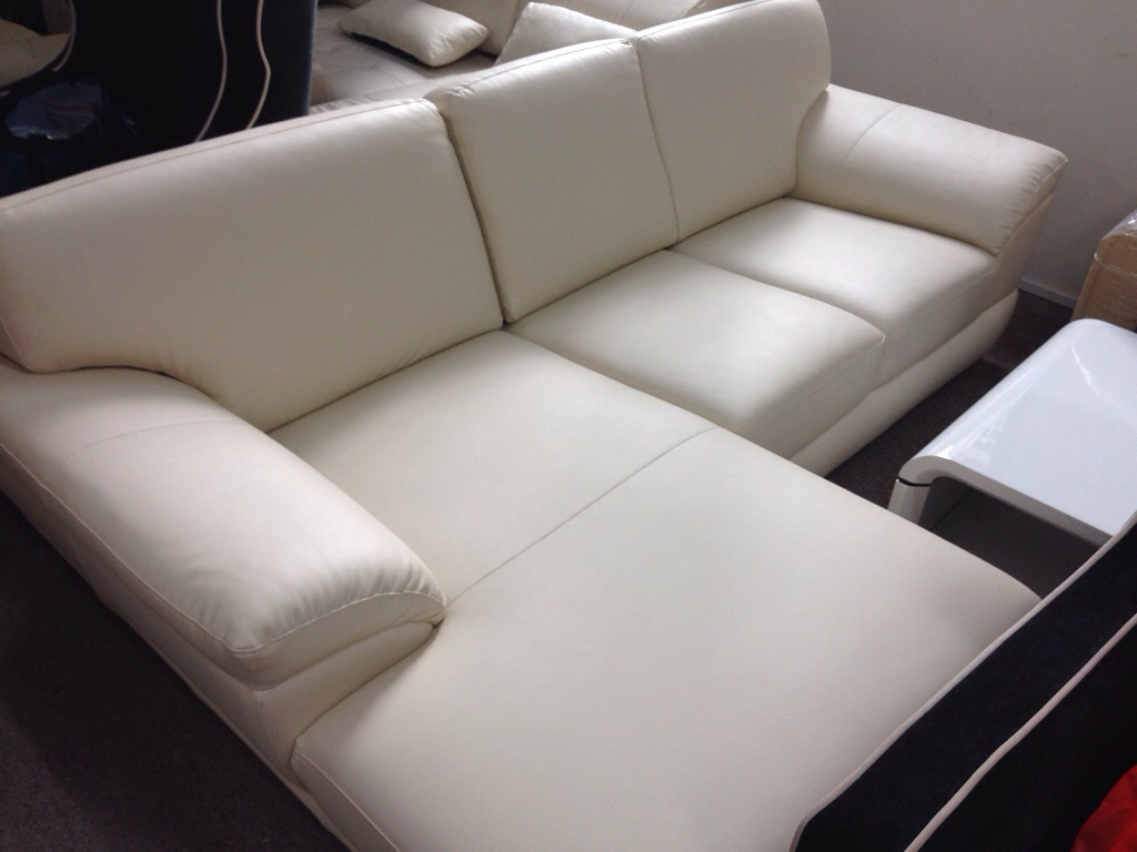 Leather 2 Seater L Shape Sofa Henry Furnishing Furniture Al In Singapore Since 1994