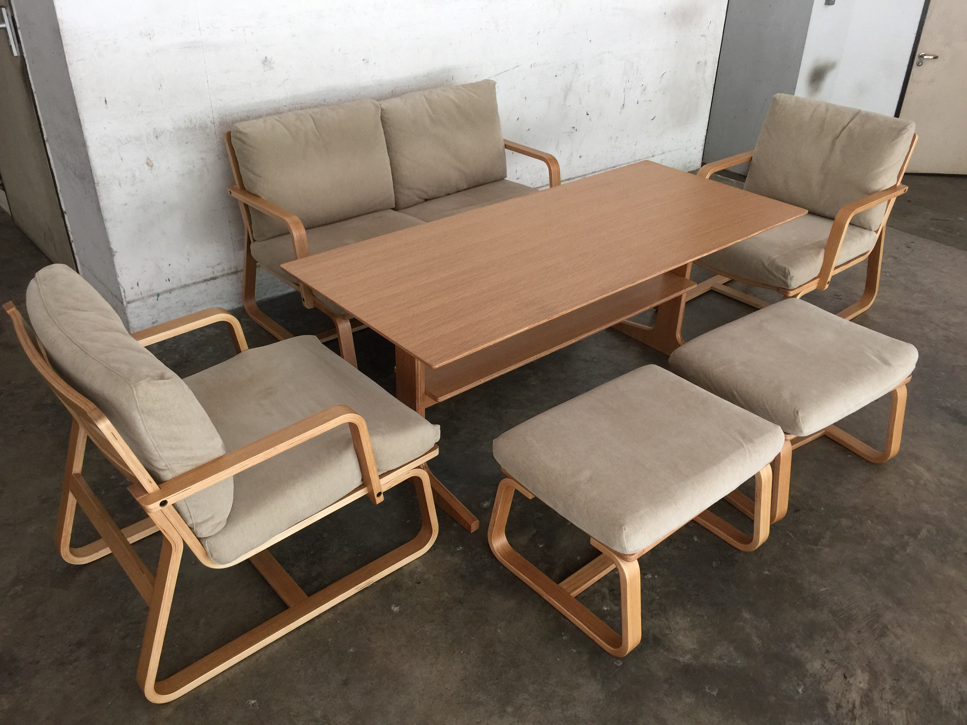 Japanese style dining living set henry furnishing
